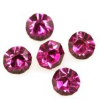 CHATON fuksia 3,8mm